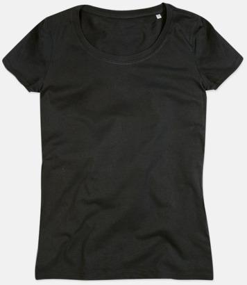 Black Opal (crew-neck dam) Ekologiska t-shirts i flera modeller och många färger - med reklamtryck