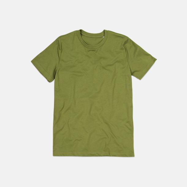 Earth Green (crew-neck herr) Ekologiska t-shirts i flera modeller och många färger - med reklamtryck