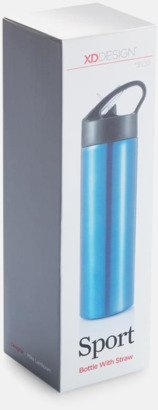 Vattenflaskor av stål med eget tryck