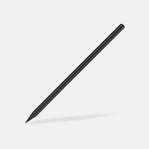 Utan sudd Svarta blyertspennor med eget tryck