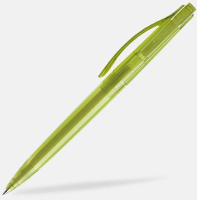 Apple Green (transparent) Prodir pennor i färger med tryck