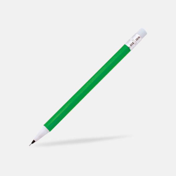 Grön Ovanliga stiftpennor med tryck