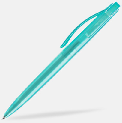 Aqua (frostad) Prodir pennor i färger med tryck