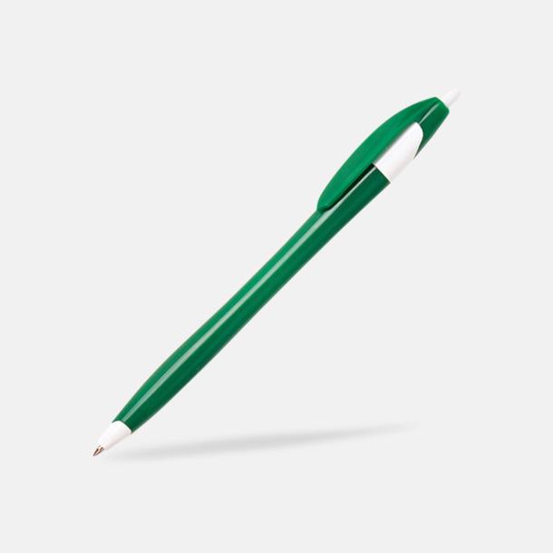Grön Riktigt billiga bläckpennor med tryck