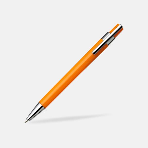 Orange Färggranna bläckpennor med tryck