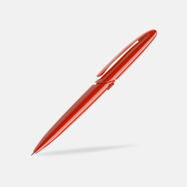 Röd (polished) East Elegance pennor från Prodir - med tryck