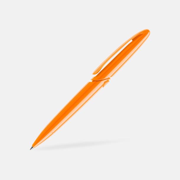 Orange (polished) East Elegance pennor från Prodir - med tryck