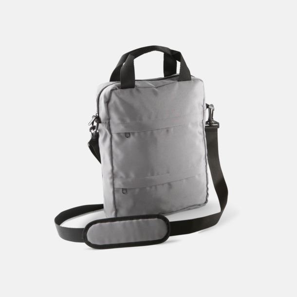 Slate Grey Messenger Bag för surfplattor - med tryck