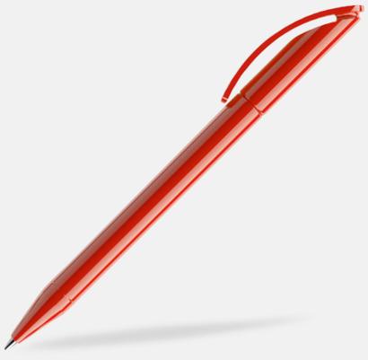 Röd (polished) Prodirs DS3-pennor i matta, exklusiva färger - med tryck
