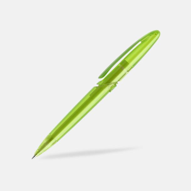 Limegrön (frostad) East Elegance pennor från Prodir - med tryck