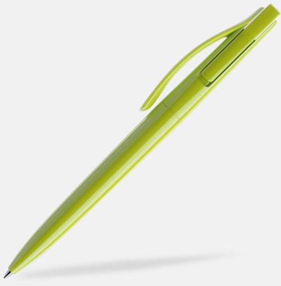 Pistacchio (polished) Prodir pennor i färger med tryck