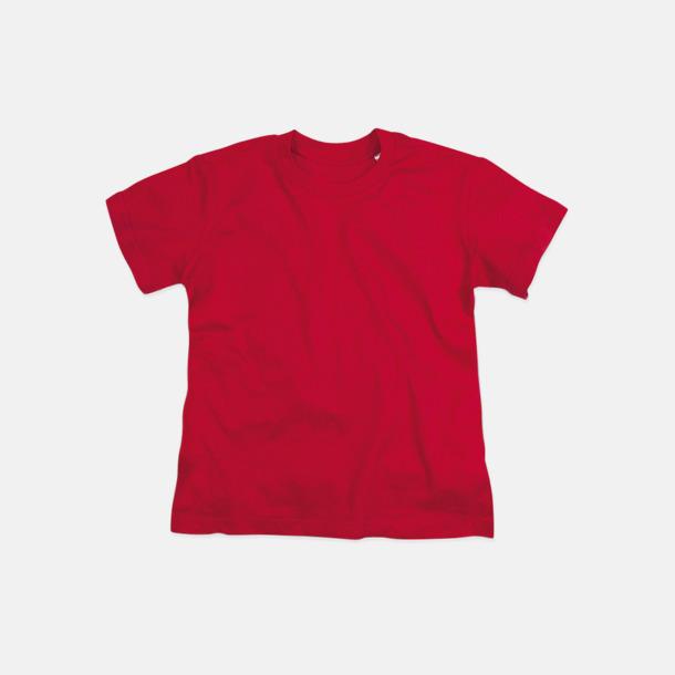 Pepper Red (crew-neck barn) Ekologiska t-shirts i flera modeller och många färger - med reklamtryck