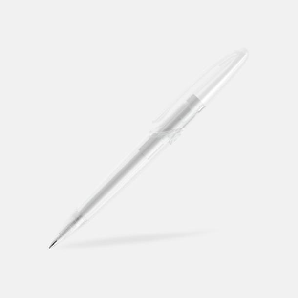 Klar (frostad) East Elegance pennor från Prodir - med tryck