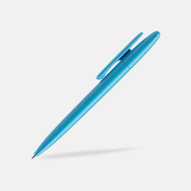 Cyan Blue (polished) Prodir pennor i matta, solida färger - med tryck