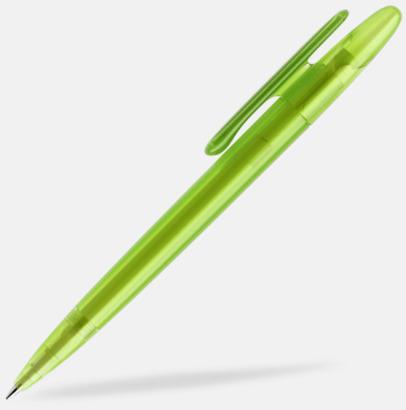 Limegrön (frostad) Prodir pennor i matta, solida färger - med tryck