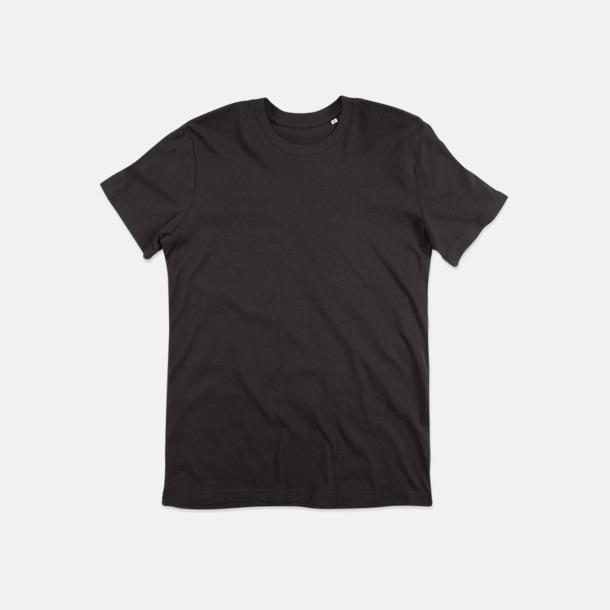 Black Opal (crew-neck herr) Ekologiska t-shirts i flera modeller och många färger - med reklamtryck