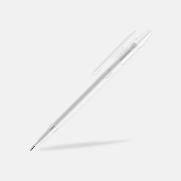 Klar (frostad) Prodir pennor i matta, solida färger - med tryck