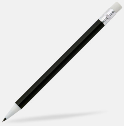 Svart Ovanliga stiftpennor med tryck