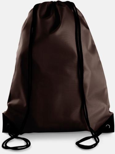 Chocolate Billiga gympapåsar med eget tryck e86126b43aefa