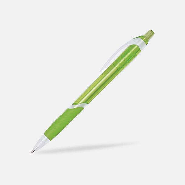 Grön Neville - Billig reklampenna med tryck
