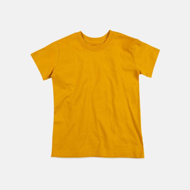 Indian Yellow (crew-neck barn) Ekologiska t-shirts i flera modeller och många färger - med reklamtryck