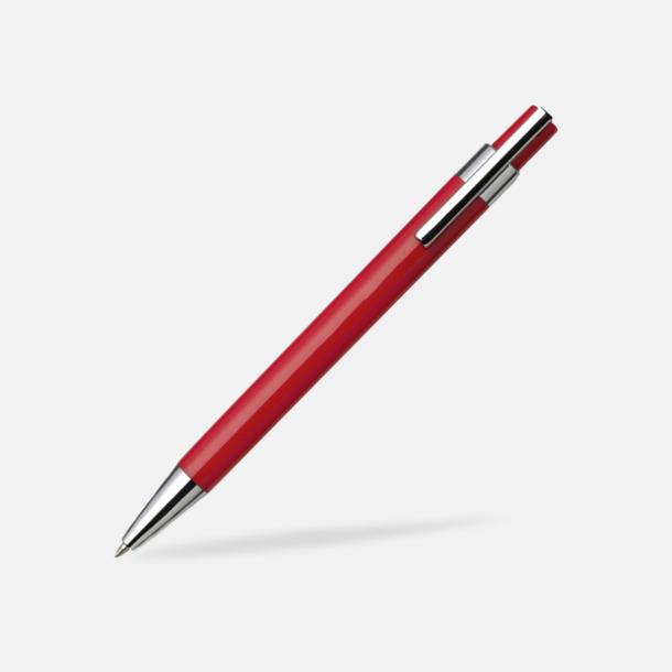Röd Färggranna bläckpennor med tryck