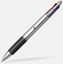 Penna med 4 bläckfärger - med tryck