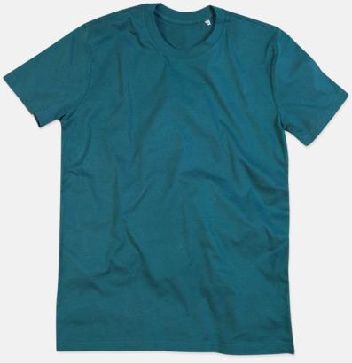Pacific Blue (crew-neck herr) Ekologiska t-shirts i flera modeller och många färger - med reklamtryck