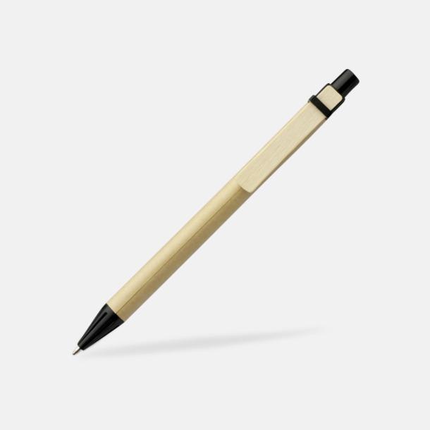 Svart Miljövänliga pennor med tryck
