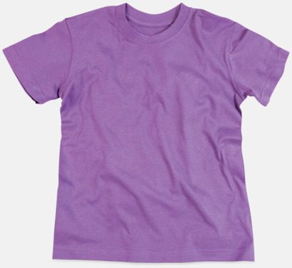 Lavender Purple (crew-neck herr) Ekologiska t-shirts i flera modeller och många färger - med reklamtryck