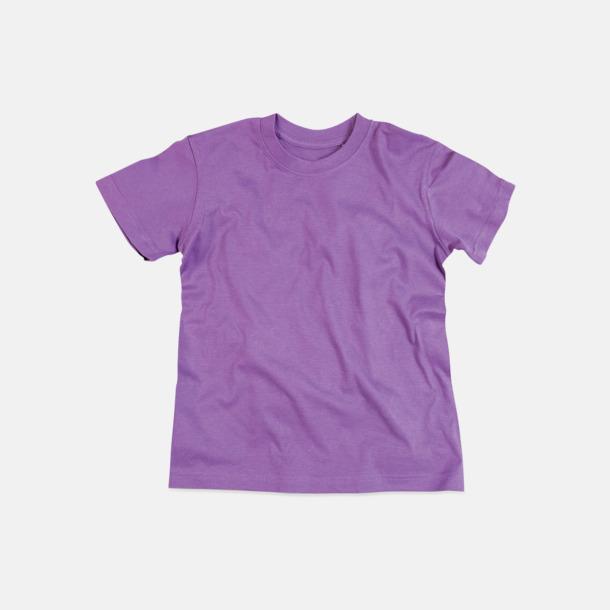Lavender Purple (crew-neck barn) Ekologiska t-shirts i flera modeller och många färger - med reklamtryck