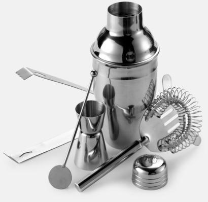 Silver Cocktail set med tryck eller gravyr