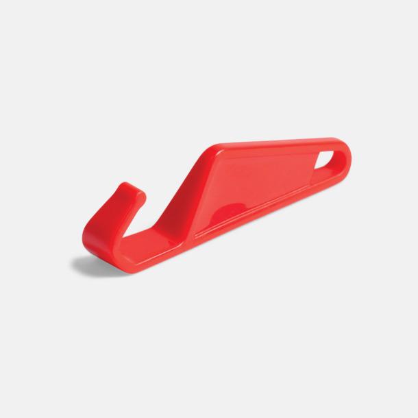 Röd Praktiskt ställ för smartphones med tryck