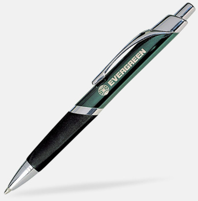 Grön Brandon - Populär trekantig metallpenna