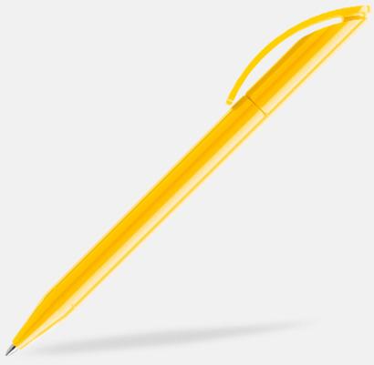 Gul (polished) Prodirs DS3-pennor i matta, exklusiva färger - med tryck