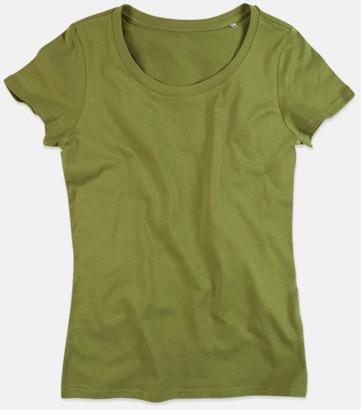 Earth Green (crew-neck dam) Ekologiska t-shirts i flera modeller och många färger - med reklamtryck