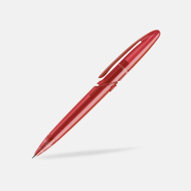 Mörkröd (frostad) East Elegance pennor från Prodir - med tryck