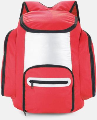 Röd Kylryggsäckar med eget tryck