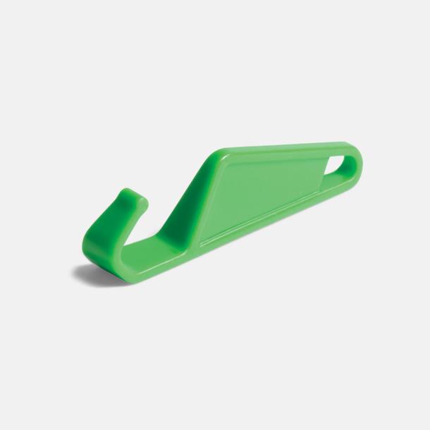 Grön Praktiskt ställ för smartphones med tryck