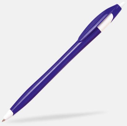 Blå Riktigt billiga bläckpennor med tryck