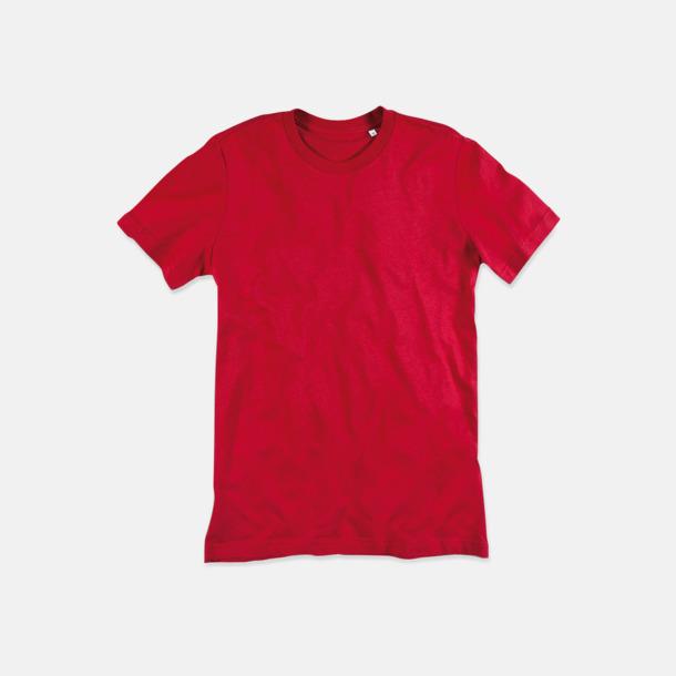 Pepper Red (crew-neck herr) Ekologiska t-shirts i flera modeller och många färger - med reklamtryck