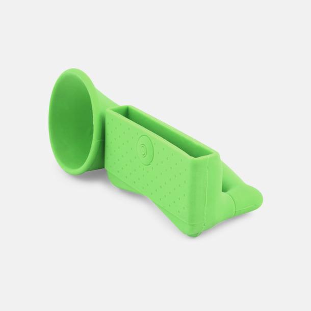 Grön Ljudförstärkare för iPhone med eget tryck