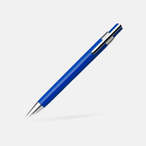 Blå Färggranna bläckpennor med tryck