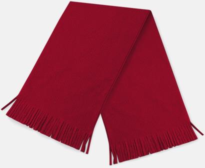 Classic Red Halsdukar av suprafleece - med reklambrodyr