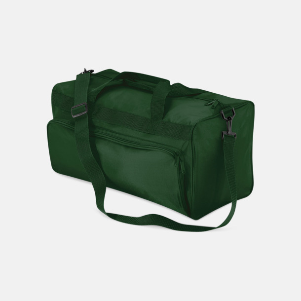 Bottle Green Snygga sportbagar med reklamtryck