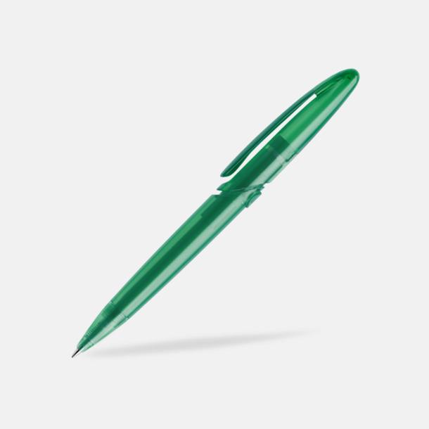 Mörkgrön (frostad) East Elegance pennor från Prodir - med tryck