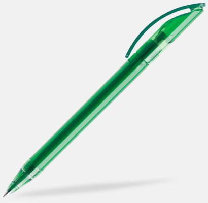 Mörkgrön (transparent) Prodirs DS3-pennor i matta, exklusiva färger - med tryck