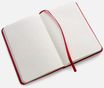Färgglada anteckningsböcker med tryck
