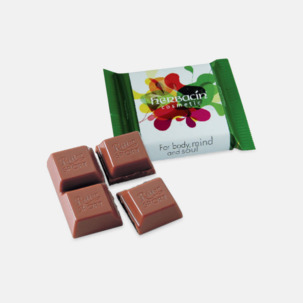 Chokladrutor från Ritter med rekalmtryck