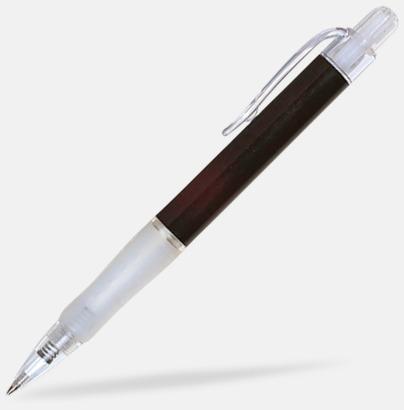 Svart (solid) Oliver - Billiga pennor med tryck